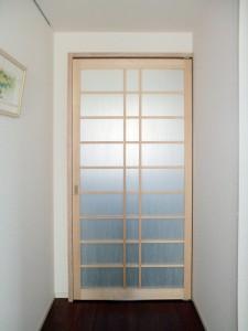 陽光で廊下も暖かくする玄関リフォーム