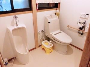 車イスでも入れるトイレのバリアフリーリフォーム