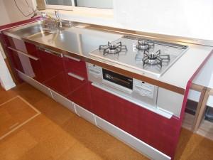 お客様とくつろげる空間、キッチン・内装リフォーム