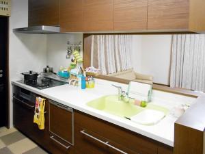 食洗機の設置、コンロ再利用のキッチンリフォーム
