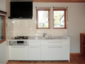二世帯住宅のキッチン増設リフォーム
