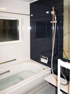 タイル風呂から暖かいお風呂へリフォーム
