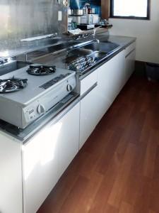 ゲスト専用キッチンの収納リフォーム
