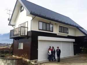 ライフサイクルコスト削減の外壁と長期間安心な屋根へ、イメージ通りのリフォーム