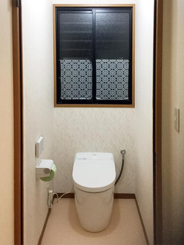 お掃除がしやすく綺麗な洗面トイレへリフォーム