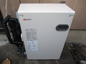 貯湯式から直圧式へ。水圧の強い給湯器へ